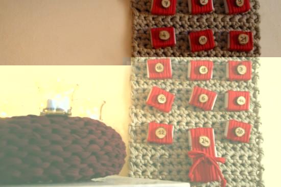 Textilo Adventsdeko