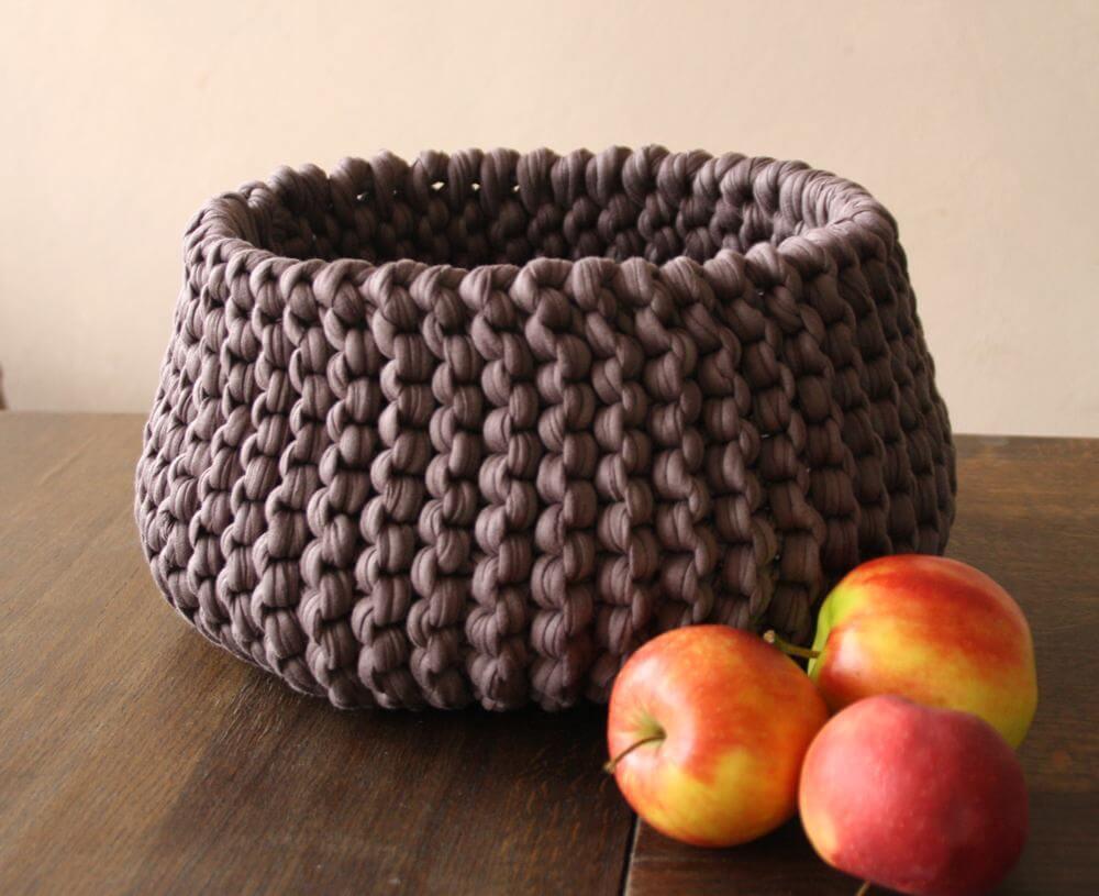 Korb Stricken Textilgarn Desleutelbenjezelf Blog
