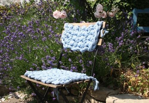 Sitzauflage für Gartenstuhl
