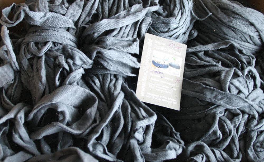 2000 Gramm Original Textilo Stripe Reste in W-Qualität