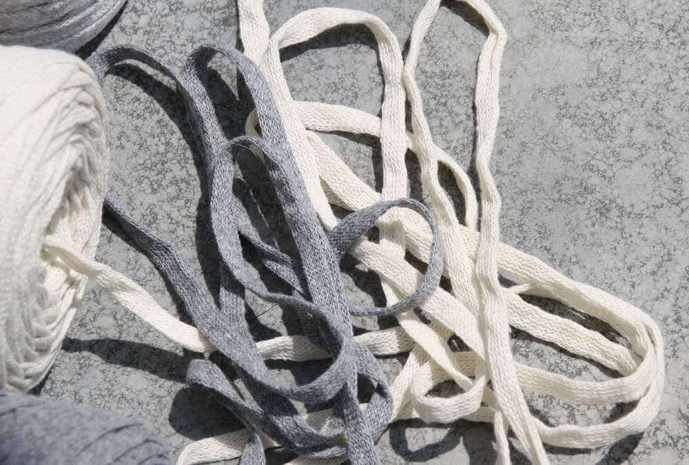 Bändchengarn XL: gleichmäßiges Strickband