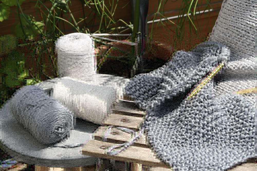 Bändchengarn XL - das sommerfrische Baumwollgarn